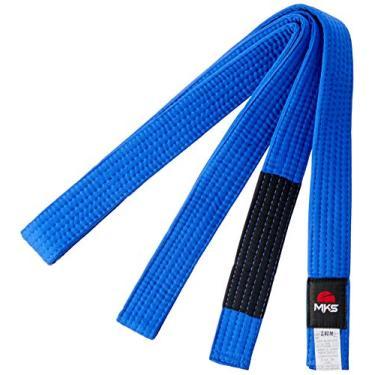 Faixa Jiu Jitsu Lisa, 280 cm, MKS, Azul