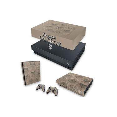 Capa Anti Poeira e Skin para Xbox One X - Shadow Of The Colossus