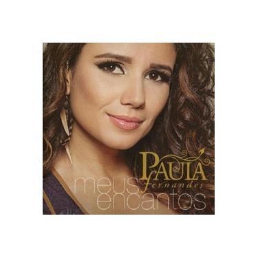 Paula Fernandes Meus Encantos - CD Sertanejo