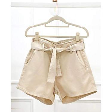 Short Jeans clochard Nude
