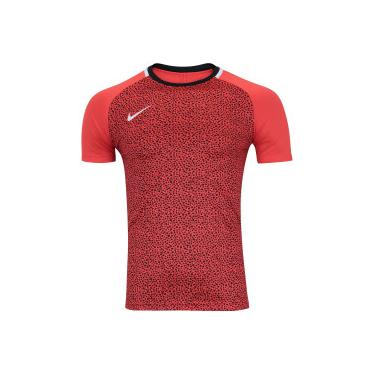 Camiseta Nike Dry Academy SS GX2 - Masculina - LARANJA ESC PRETO Nike 23a1514a06d54