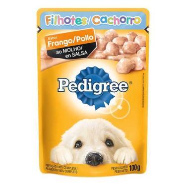 Ração para Cães Pedigree Filhotes Sachê
