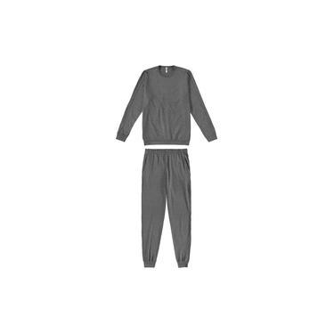 Pijama Longo Masculino Malwee Liberta M - XGG