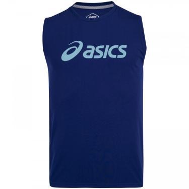 Camiseta Regata Asics Classic Logo Asim172 - Masculina Asics Lic Masculino