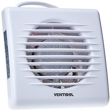 Microventilador/Exaustor para Banheiro, Branco, 100mm, 127v, Ventisol