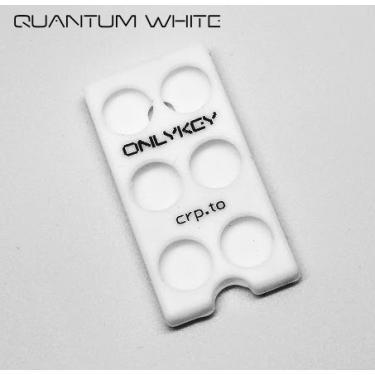 Capa de silicone OnlyKey, Quantum White