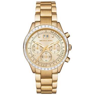 Relógio Michael Kors Cronógrafo Brinkley Analógico Feminino MK6187 4DN 642ab8f26e
