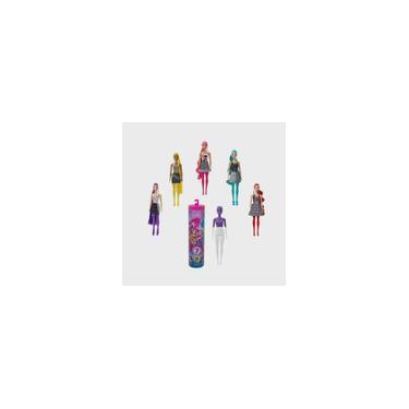 Imagem de Barbie Color Reveal Monocromática Série 6 GWC56 Estilos Surpresas Mattel