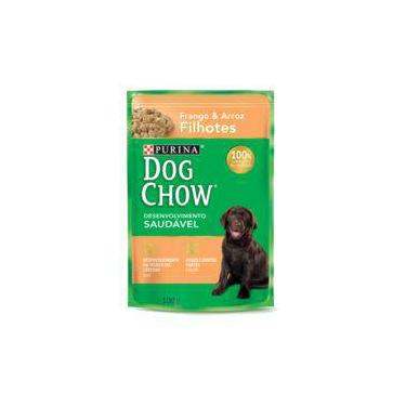 Ração Nestlé Purina Dog Chow Filhotes Sachê Frango e Arroz - 100 gr