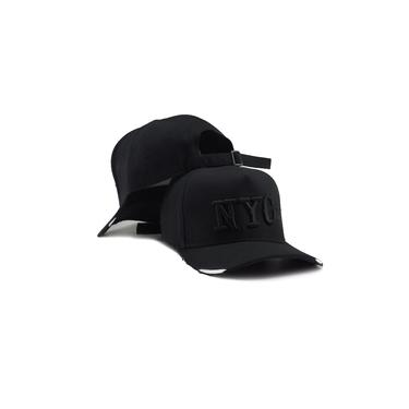 Boné Fitão New York City Ny NYC Bordado Snapback Aba Curva