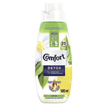 Amaciante Concentrado Comfort Detox 500 ml