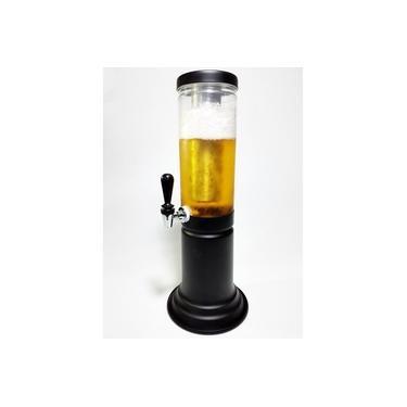 Imagem de Torre de Chopp com Porta Gelo, Recipiente para 1.5 Litros em Pet use como Chopeira ou Cervejeira