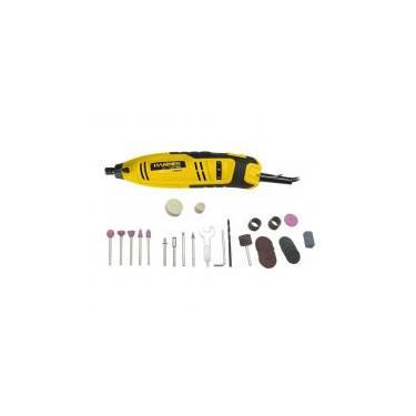 Kit micro retífica 150 watts 41 acessórios sem maleta - GYMI150K (110V) - Hammer