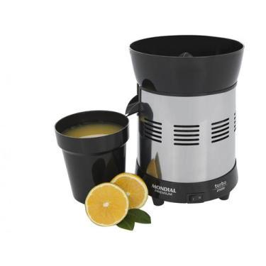 Imagem de Espremedor De Frutas Mondial Cozinha E-10 Elétrico - Inox 250W Capacid
