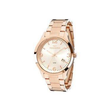 a38eaf17178 Relógio Technos Rose Feminino Elegance Dress 2315acj 4k