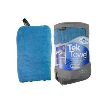 Toalha Esportiva Ultra Absorvente 50X100cm Azul - Tek Towel M - Sea To Summit