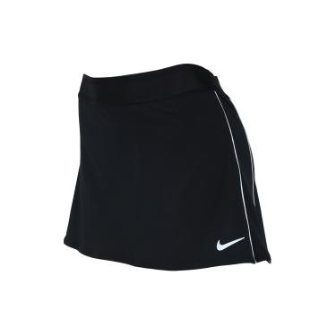 Short Saia Nike Skirt STR - Feminino - PRETO BRANCO Nike 5edb419f2e4e7