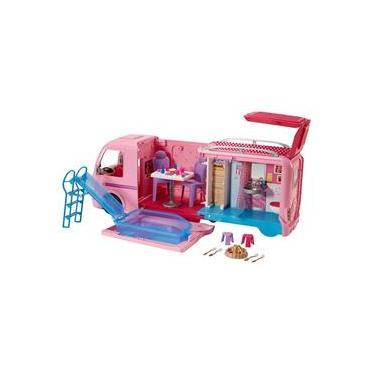 Playset e Acessórios Barbie Mattel Trailer dos Sonhos