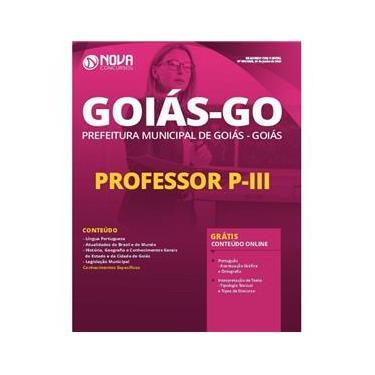 Imagem de Apostila Prefeitura De Goiás - Go 2020 - Professor P-Iii