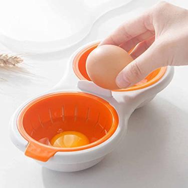 Imagem de giveyoulucky Espremedor de alho, Mini Alho Rotativo, Esmerilhado para Cozinha, Legumes e Nozes Laranja