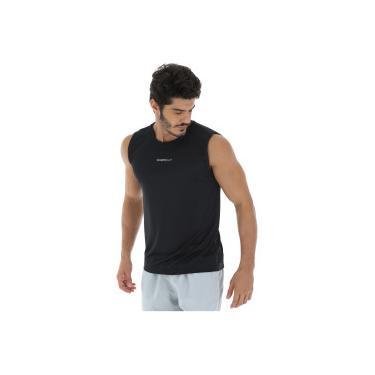 Camiseta Regata Oxer Basic Light - Masculina - PRETO Oxer 073b1c6cbf8b4