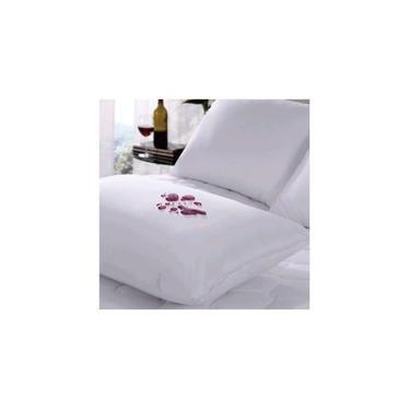 Imagem de Capa Impermeável Protetora de Travesseiro Nura 5 Peças