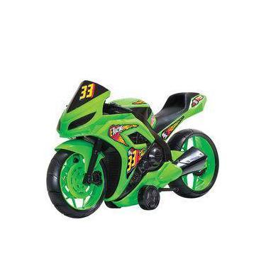Imagem de Moto E Racing Amarelo – BsToys