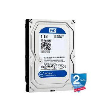 HD 1tb Tera Western Digital Blue Sata 7200 WD 3.5""
