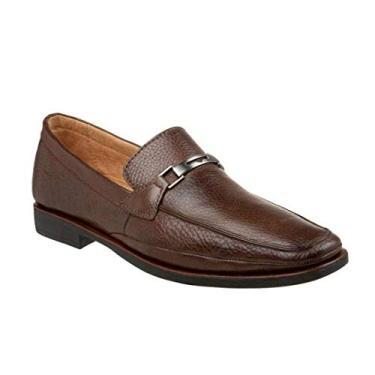 Sapato Masculino Mocassim Sandro Moscoloni Lexington Marrom (42)