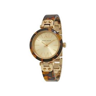 4ac16ef53e0 Relógio Feminino Anne Klein Gold Dial - Modelo Ank-10-9652Chto
