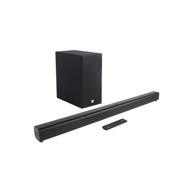 Soundbar JBL Home Cinema SB160 - 220W RMS, Bluetooth, Subwoofer sem Fio - Bivolt