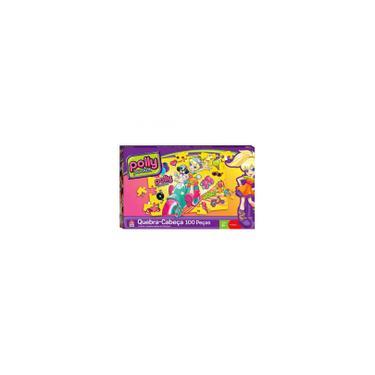 Imagem de Quebra-Cabeça 100 Peças Polly Pocket - Mattel