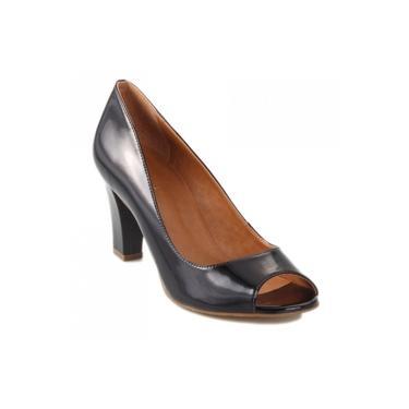 Sapato Peep Toe Luz da Lua Verniz S35706CV38