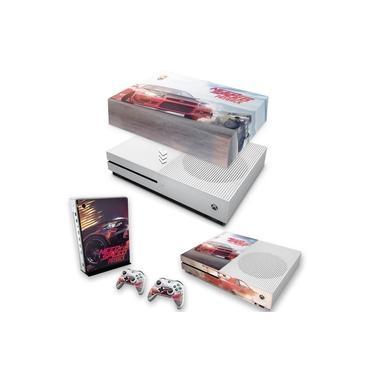 Capa Anti Poeira e Skin para Xbox One S Slim - Need For Speed Payback