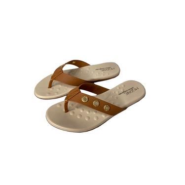 Sandália Feminina Modare Ultra Conforto Detalhe Dourado