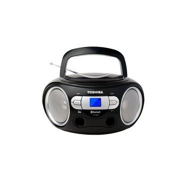 Imagem de CD Player, Toshiba TY-CWS9, Preto, Bluetooth, Bivolt, 12W