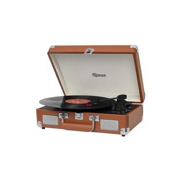 Vitrola Raveo Sonetto Chrome BT/USB/AUX Marron
