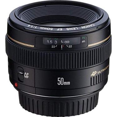 Imagem de Lente EF 50mm F1.1.4 USM - Objetiva, Canon, Preto