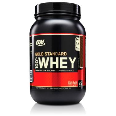 b8552143d 100% Whey Protein Gold Standard (2LBS 909g) - Optimum Nutrition - Double