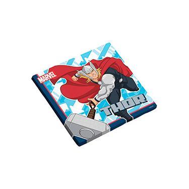 Guardanapo Folha Dupla 25x25cm Avengers Animated com 16 unidades - Regina Festas