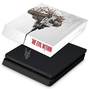 Capa Anti Poeira para PS4 Slim - The Evil Within