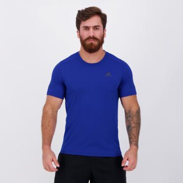 Camiseta Adidas Response Especial Azul - P