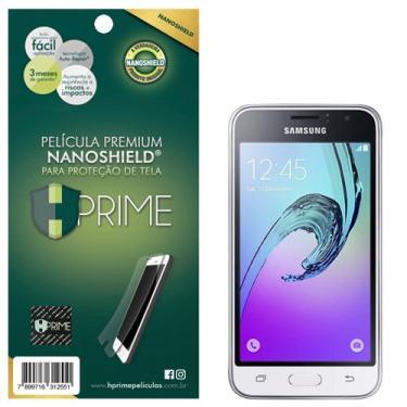 Pelicula HPrime NanoShield para Samsung Galaxy J1 2016 (J120), Hprime, Película Protetora de Tela para Celular, Transparente