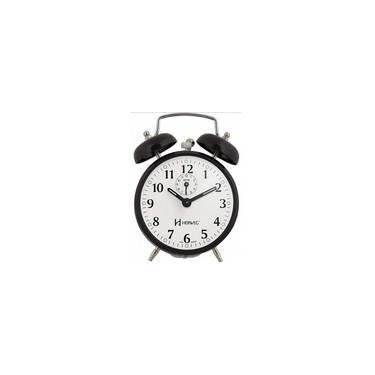 ff7cf1adcd2 Despertador Herweg 2208 034 Preto Antigo Retrô Relógio