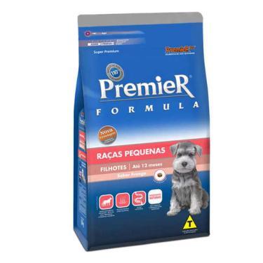 Ração Premier Pet Cães Filhotes Raças Pequenas - 1 Kg
