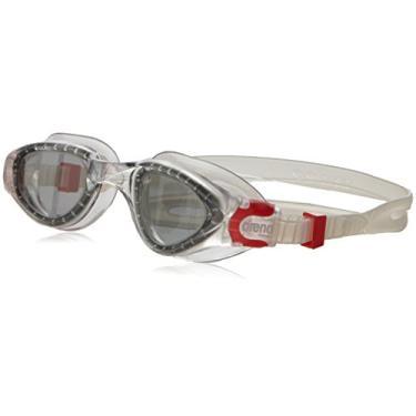 Arena Oculos Cruiser Soft Lente Fume, Transparente/ Vermelho