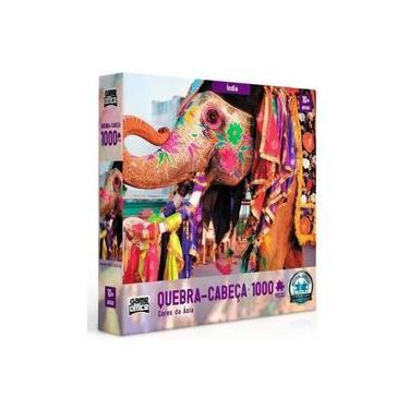 Imagem de QUEBRA-CABEÇA 1000 Peças Cores da Asia India 2 Game Office 2635
