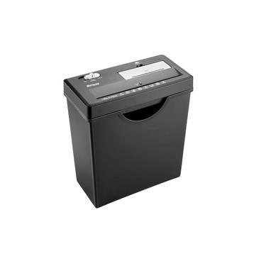 Fragmentadora de Papel Multilaser Com Cesto Até 7 Folhas 11lts CD Cartão Grande Preto 110V - OF003