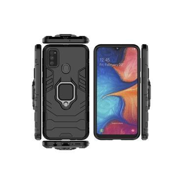 Capa Ring Armor Samsung Galaxy M21S – Preto