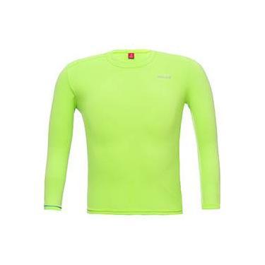 Camiseta Ion UV ML Kids Verde Citrus - Solo
